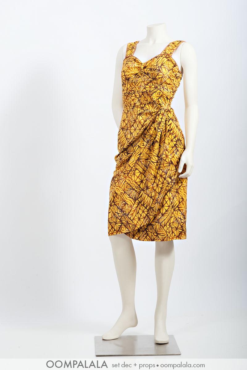 butternut Hawaiian sarong sundress